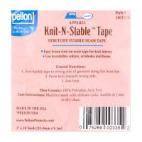 "Pellon 180 Knit-N-Stable 1"" x 10 yd Tape"