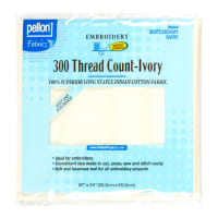 """Pellon 300 Thread Count Fabric 20"""" x 24"""" Package Ivory"""