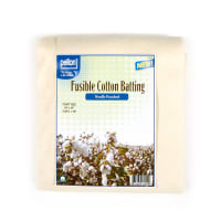 """Pellon H-Fusible 100% Cotton Batting With Scrim-Needle Punched 34"""" x 45"""" Craft Size Package"""