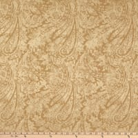 Waverly Burnished Scroll Jacquard Bronze