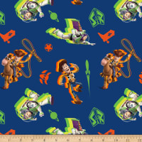 Disney Toy Story 4 Buzz And Woody Toss Navy