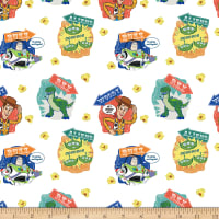 Disney Toy Story 4 Character Badges Multi