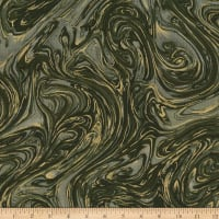 Michael Miller Marble with Metallic Camouflage