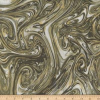 Michael Miller Marble with Metallic Dirt