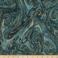 Michael Miller Marble with Metallic Riviera