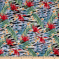 Fabtrends Koshibo Animal Tropical Green/Coral