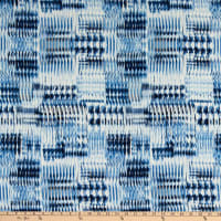 Fabtrends Koshibo Vertical Ikat Blue
