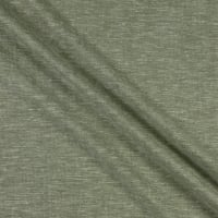 Fabtrends Boardwalk Rayon Linen  Solid Verde