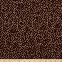 Fabtrends DTY Knit Animal Cheetah Brown