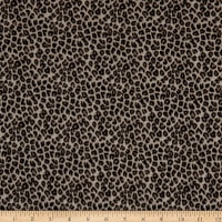 Fabtrends DTY Knit Animal Cheetah Stone