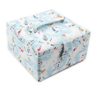Frozen 2 Small Sewing Basket Olaf White