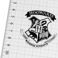 Harry Potter Ruler Hogwarts Black