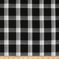 Lawn Plaid Black/White