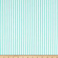 Lawn Large Stripe Mint