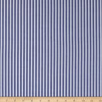 Lawn Large Stripe Navy