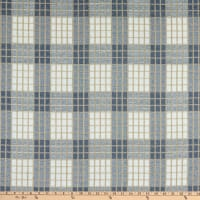 Waverly Cozy Plaid Jacquard Sky
