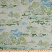 Waverly Imagery Toile Slub Duck Aloe