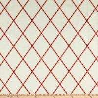 Waverly Trade Winds Embroidery Coral