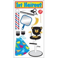 SandyLion Essentials Dimensional Stickers-1st Haircut