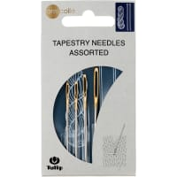 Tulip Big Eye Tapestry Needles-1 Each Size 13, 14, 15 & 16 4/Pkg