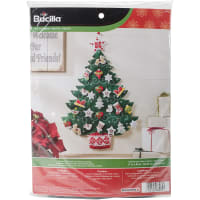 Bucilla Advent Calendar Felt Applique Kit-Nordic Tree