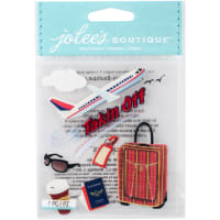 Jolee's Boutique Dimensional Stickers-Taking Off