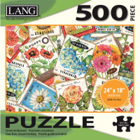 """Jigsaw Puzzle 500 Pieces 24""""X18""""-Seed Packets"""