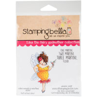 Stamping Bella Cling Stamps-Edna Needs A Martini