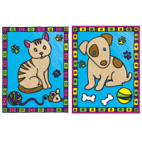 """My First Paint By Number Kit 8.75""""X11.375"""" 2/Pkg-Kitten & Puppy"""