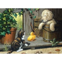 """Junior Large Paint By Number Kit 15.25""""X11.25""""-3 Buddies"""