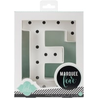 "Heidi Swapp Marquee Love Letters, Numbers & Shapes 8.5""-E"
