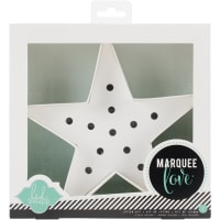 "Heidi Swapp Marquee Love Letters, Numbers & Shapes 8.5""-Star"