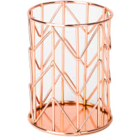 Wire Pencil Cup 1/Pkg-Copper