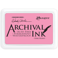 Wendy Vecchi Archival Ink Pad-Pink Peony