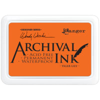 Wendy Vecchi Archival Ink Pad-Tiger Lily