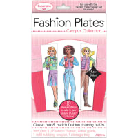 Fashion Plates Expansion Pack-Campus