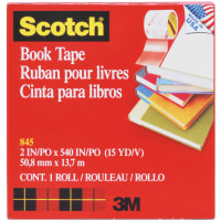 "Scotch Book Tape Boxed-2""X15yd"