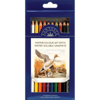 Fantasia Artist Pencil Sets 10/Pkg-Watercolor