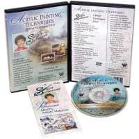 Susan Scheewe Acrylic Painting Techniques DVD-