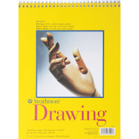 "Strathmore Medium Drawing Spiral Paper Pad 9""X12""-50 Sheets"