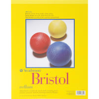 "Strathmore Bristol Vellum Paper Pad 11""X14""-20 Sheets"