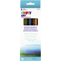 Simply Art Watercolor Pencils 18/Pkg-Assorted Colors