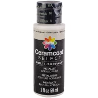 Ceramcoat Select Multi-Surface Paint 2oz-Pearl White