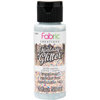 Fabric Creations Fantasy Glitter Fabric Paint 2oz-Cosmos
