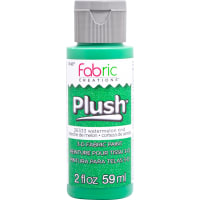 Fabric Creations Plush 3D Fabric Paint 2oz-Watermelon Rind