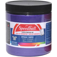 Opaque Fabric Screen Printing Ink 8 Ounces-Amethyst