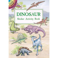 Dover Publications-Dinosaur Sticker Activity Book