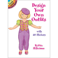 Dover Publications-Design Your Own Outfits W/Stickers