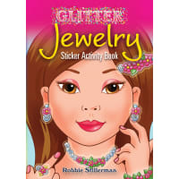 Dover Publications-Glitter Jewelry Sticker Activity Bk