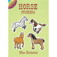 Dover Publications-Horse Stickers